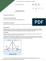 Estimación Estadística - A Estadistica Inferencial 1920 2890