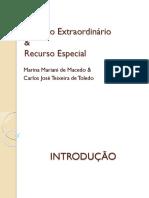 Aula de Recurso Especial ExtraordinÁrio Estagiarios PGE