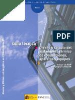 Guía Técnica Diseño y cálculo del aislamiento térmico de conducciones, aparatos y equipos