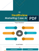 Healthview Marketing Project Analysis