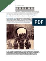La Invasión Japonesa de Manchuria