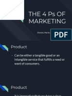 4P's of Marketing (BCOMDSI)