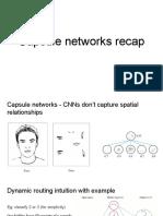 Capsule Networks Recap