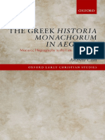 ANDREW. The greek historia monachorum in Aegypto. Monastic hagiography in the late fourth century.pdf