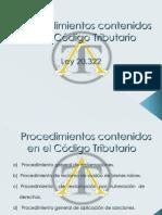 Procedimientos Código Tributario Corregido