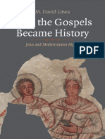 - Litwa - How the Gospels Became History; Jesus and Mediterranean Myths (2019)