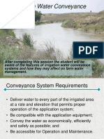 water conveyance