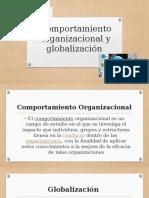 Comportamiento organizacional y globalización