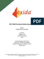 Certificate Sil 3 Assessment Report Topworx en 82490