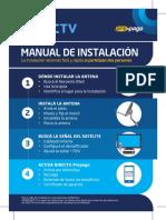 Original DIRECTV Manual Autointalación Agosto