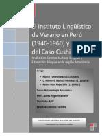 EL INSTITUTO LINGÜISTICO DE VERANO EN EL PERÚ