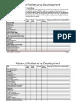 Skills Inventory Worksheet