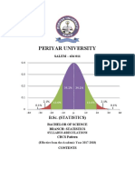 B.sc Statistics Main&Allied