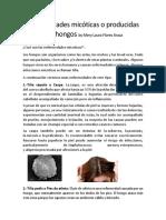 Enfermedades Micóticas o Producidas Por Hongos by Mery Laura Flores Araca