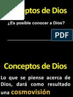 Conceptos de Dios
