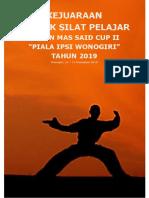 Juklis RM Said Cup II 2019