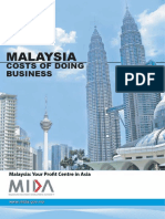 MIDA - Malaysia_cost of Doing Business