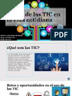 El Uso de Las TIC en La Vida-lucy