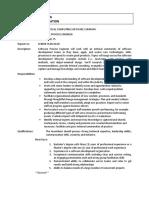 Software Process Engineer-job Spec