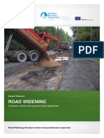 Road Widening Review and Questionnaire-2010