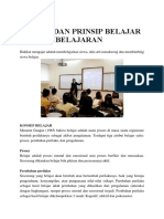 Konsep Dan Prinsip Belajar Dan Pembelajaran