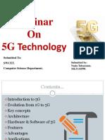 CSE 5G Technology PPT