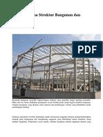 Elemen Utama Struktur Bangunan Dan Fungsinya