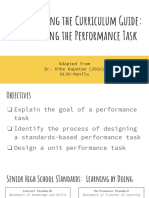 2 Performance Tasks