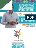 Programa Gobierno Nariño