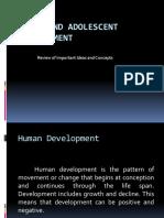 Child and Adolescent Development PRESENTATION