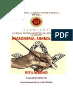Masoneria Simbolismo y Ritualismo Versión Editada