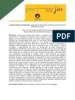 53 Linguagem e Sociedade Análise Do Discurso Jurídico e Político No Contexto Atual