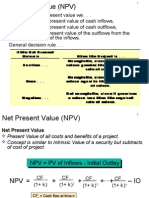 Lecture 2 NPV & FV