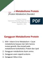 K2 Gangguan Metabolisme Protein