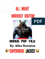 All Might PDF