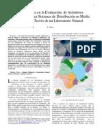 Experiencia en la Evaluación  de Aisladores Poliméricos - XXX CONCAPAN - Artículo