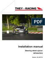 Installation Manual Steering Wheel-spacer V3 2017 12