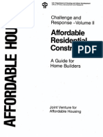 Affordable Residential Construction Vol2