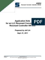 LLC Transformer calculation