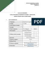 5. Sílabo - Arquitectura y Organización de Computadoras ISC.docx
