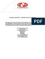 Fire Risk Assessors Standard Scope of Services 1
