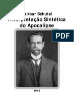 Cairbar Schutel - Interpretação Sintética do Apocalipse [Formato A6]