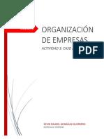 actividad 3 organizacion de empresas uvm