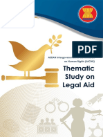 AICHR Thematic Study on Legal Aid