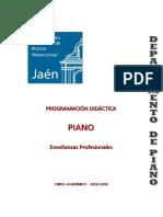 Piano - e.profesionales. 2013-2014