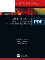 Digital Image Watermarking Theoretical and Computational Advances 2019