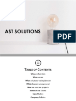 AST Solutions Profile