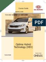 Công nghệ Hybrid trên xe KIA Optima 2011