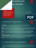 Organising ppt