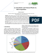Biodegradation of Synthetic and Natural Plastic By